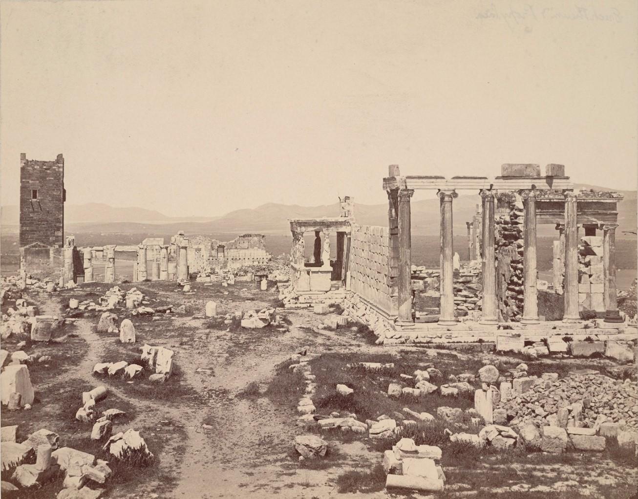 Акрополь. Эрехтейон и Пропелеи