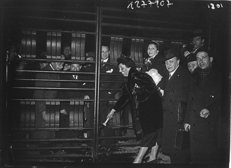 Церемония открытия Выставки. 24.05.1937