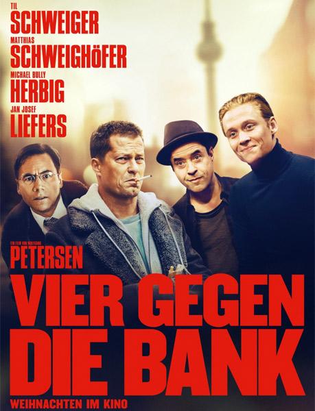 Четверо против банка / Vier gegen die Bank (2016/WEB-DLRip)