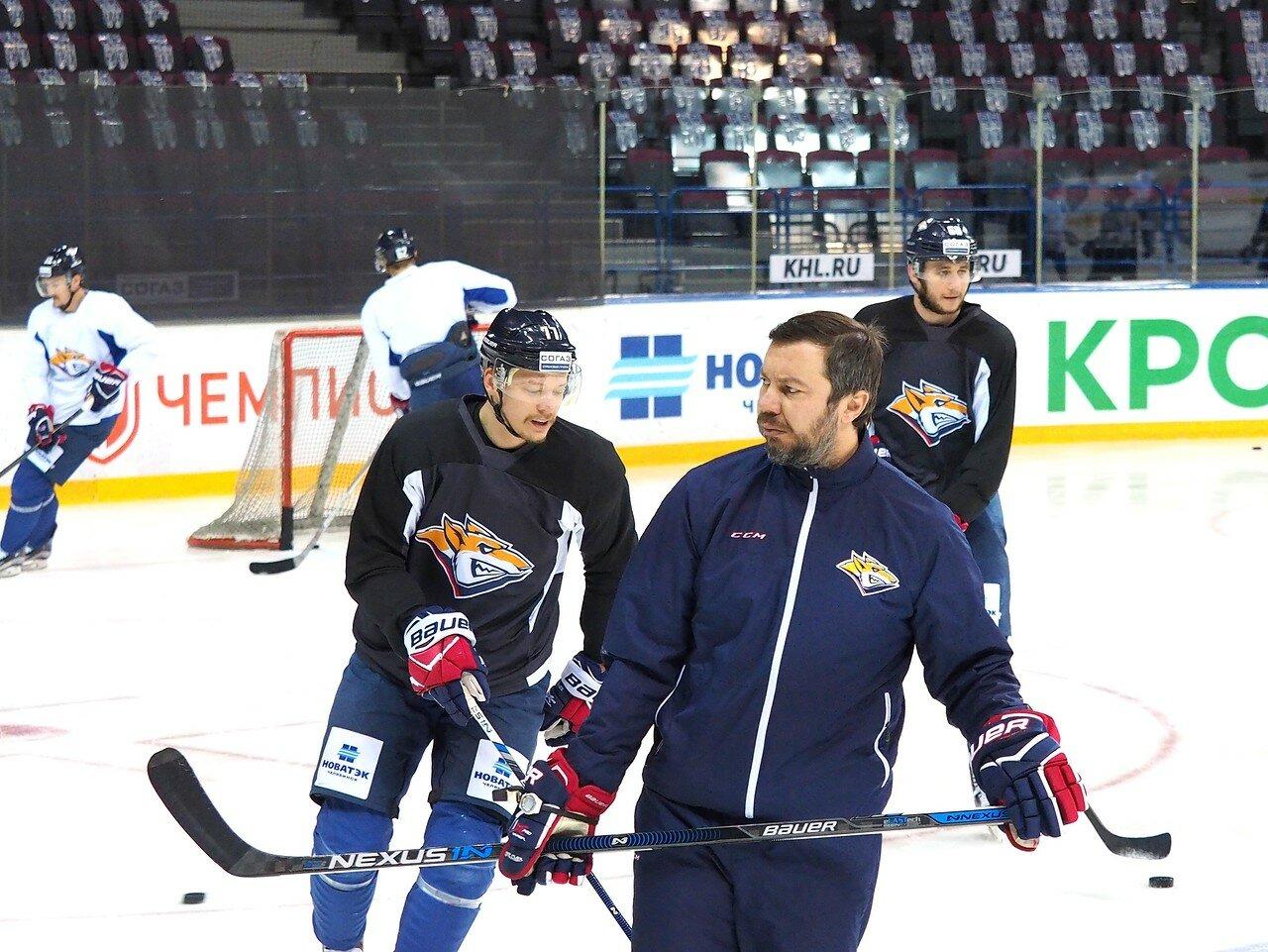 8 Открытая тренировка перед финалом плей-офф КХЛ 2017 06.04.2017