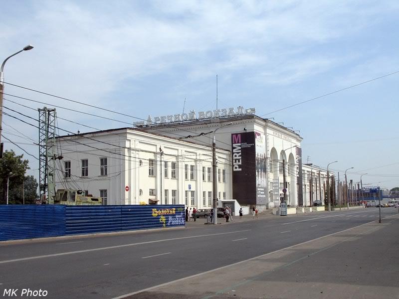 Музей современного искусства - бывший речной вокзал