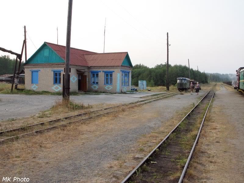 Станция Угольная в Верхней Синячихе