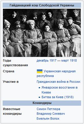 Гайдамацкий кош Слободской Украины