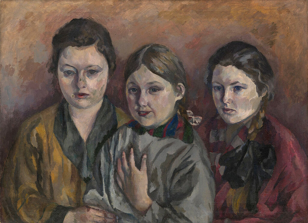 Семейный портрет Частное собрание