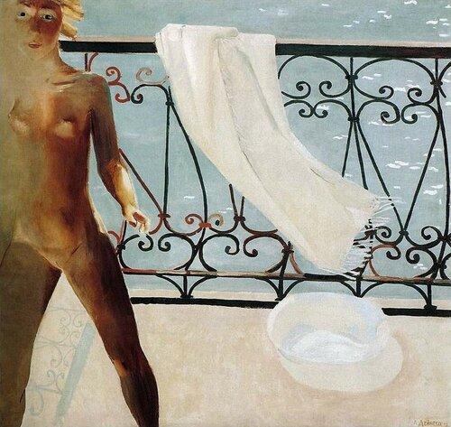 Александр Александрович Дейнека (1899—1969) На балконе