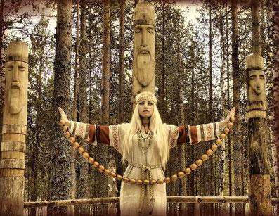 25 июня День дружбы и единения славян. Славянские боги - идолы