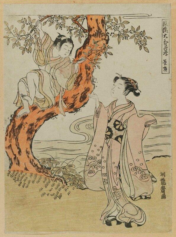 Исода Корюсай (японский художник, 1735-1790) Часть 3.