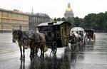 Дождливый Петербург