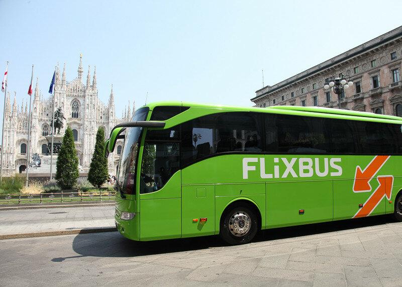 Передвигаться по Италии на автобусе - вариант для бюджетных туристов