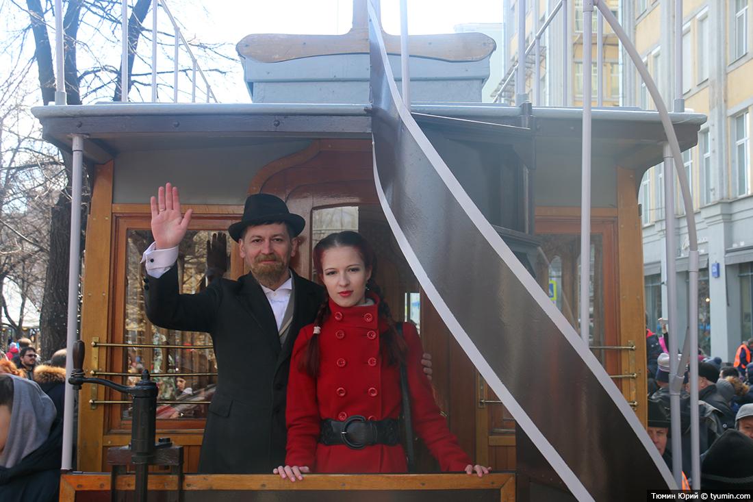 Журналист и путешественник Юрий Тюмин поделился с экологами репортажем о параде трамваев в Москве  - фото 26