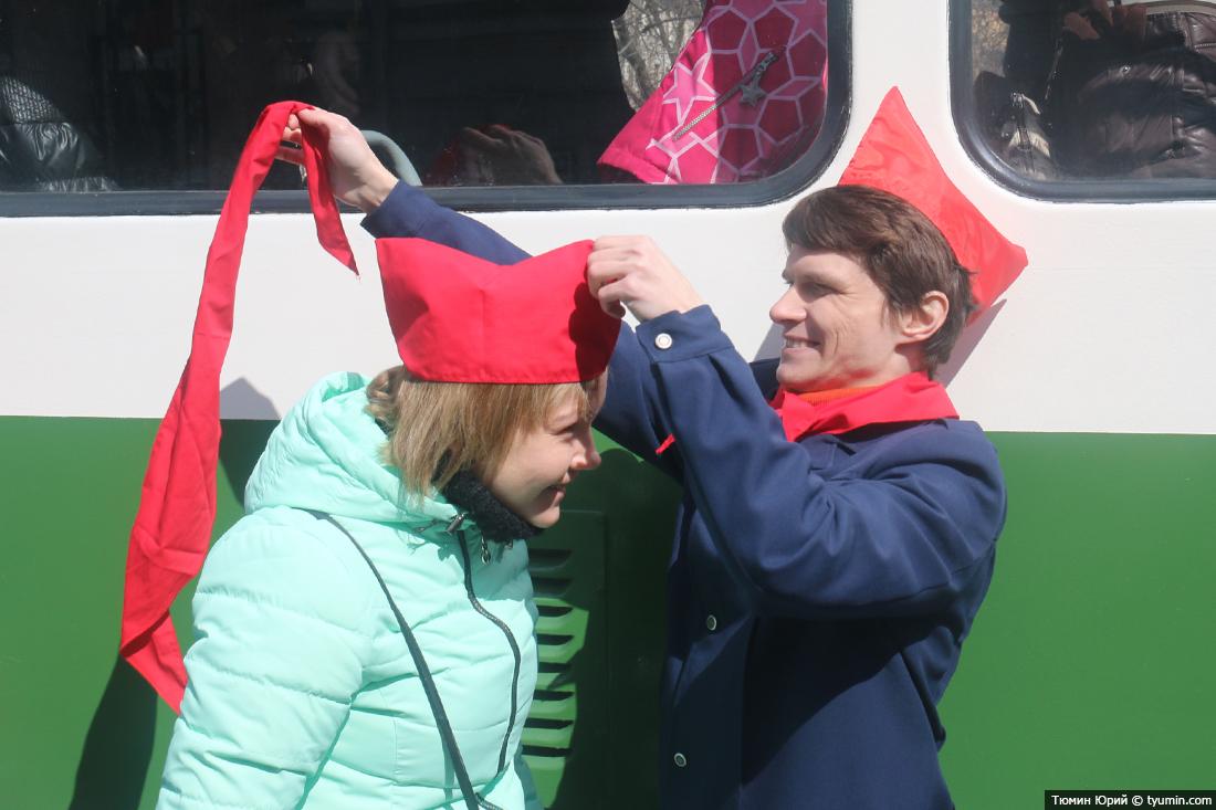 Журналист и путешественник Юрий Тюмин поделился с экологами репортажем о параде трамваев в Москве  - фото 30