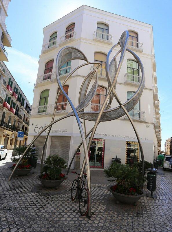 Малага. Площадь Карбон (Plaza Carbón)