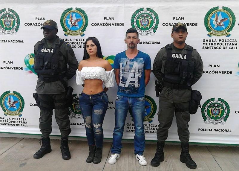 Колумбийская модель похитила двоих мужчин, заманив их в клубе в приват (5 фото)