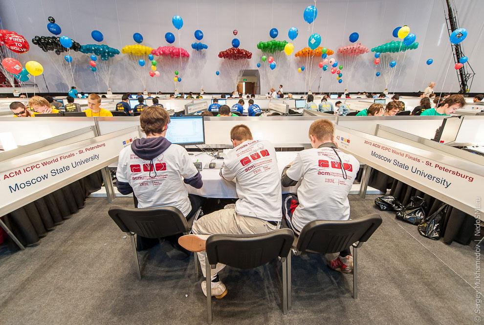 Это самое крутое в мире командное соревнование программистов.