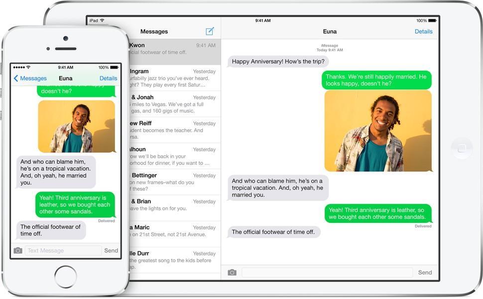 2. Умным термином «интеграция с OS X Yosemite» называется функция новой iOS8, которая позволяет авт