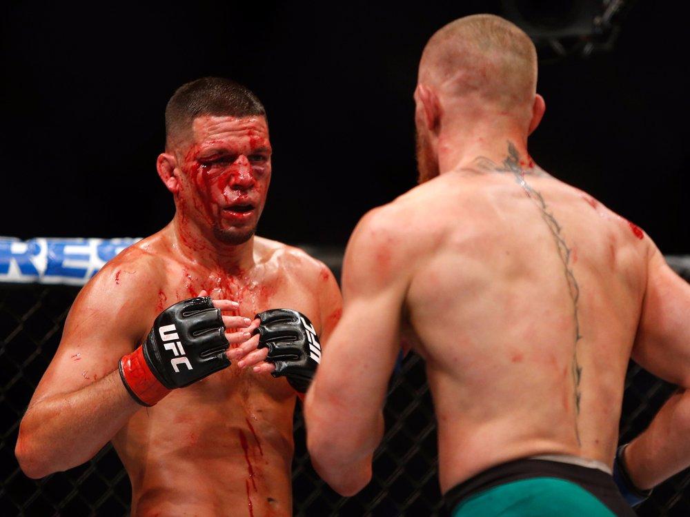 Реванш с Диасом оказался просто кровавой бойней, никто не хотел уступать.