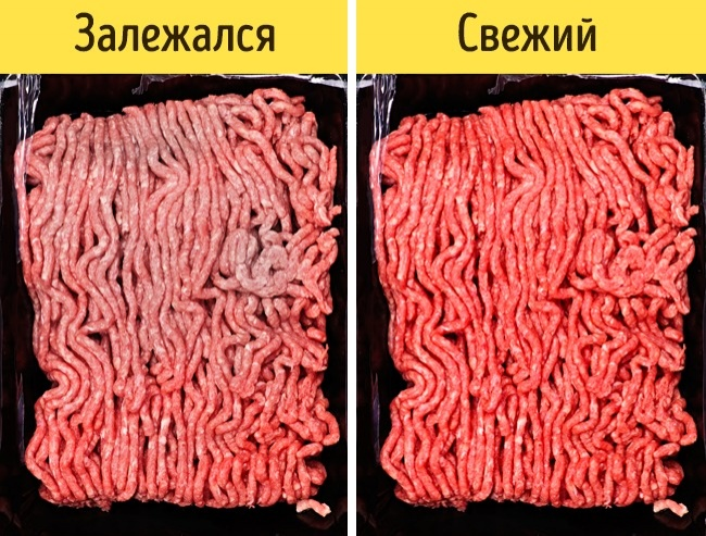 © depositphotos.com  Главная характеристика замороженного фарша— его цвет. Онварьируется от