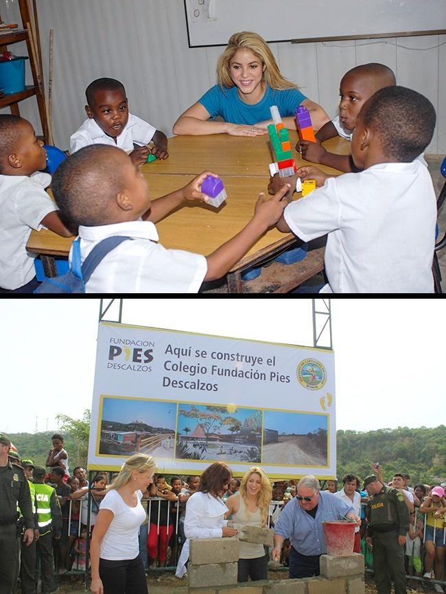 © Fundacion Pies Descalzos/facebook  © Fundacion Pies Descalzos/facebook  Еефонд Fundac