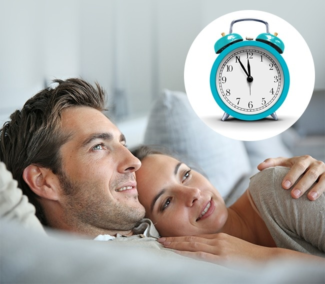 Очень часто пары находятся далеко друг отдруга весь день, авечером ложатся