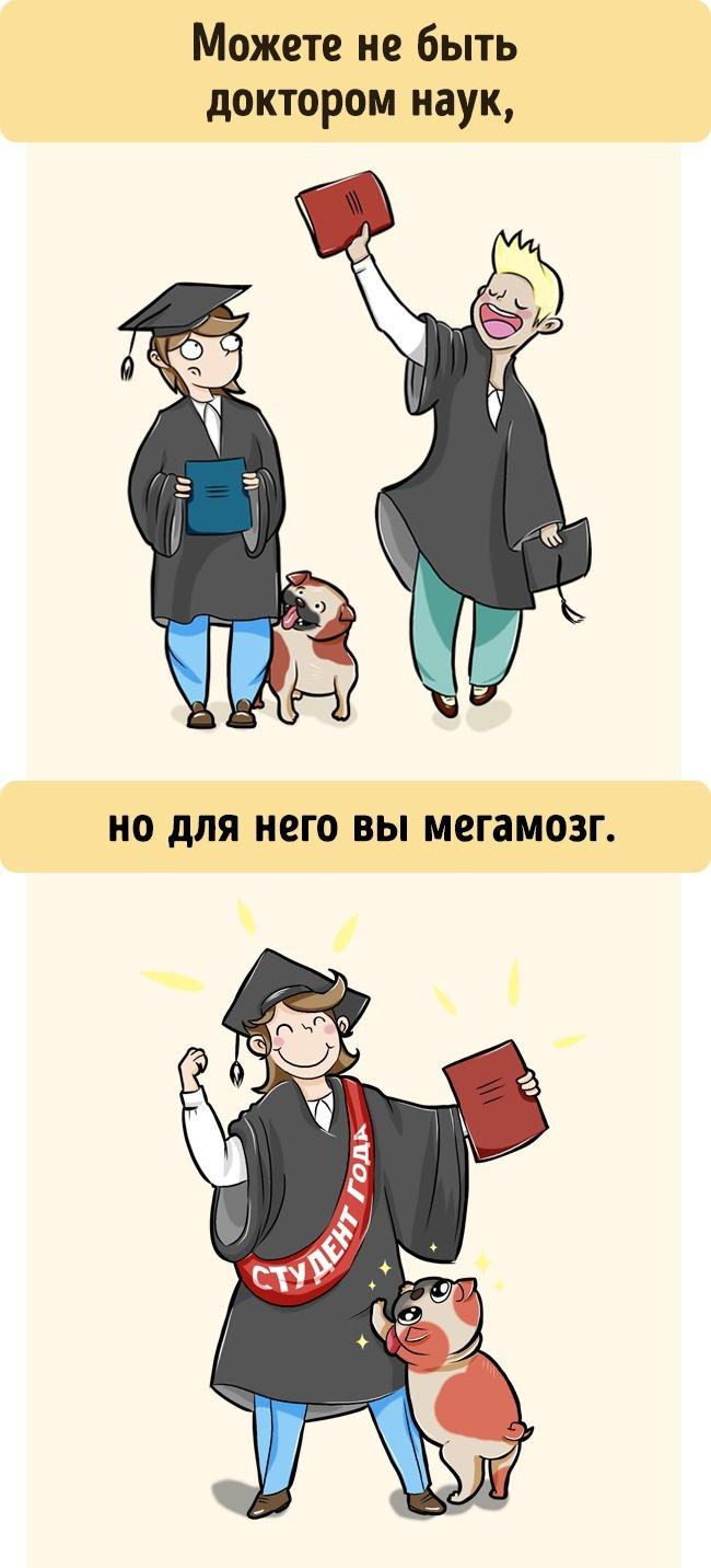 7иллюстраций отом, как нас видит собака
