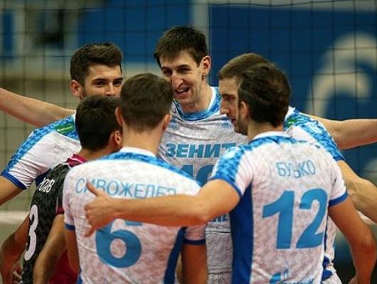 «Зенит» вышел вфинал чемпионата Российской Федерации, обыграв «Белогорье»