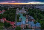 Александро-Невская лавра —июль 2017