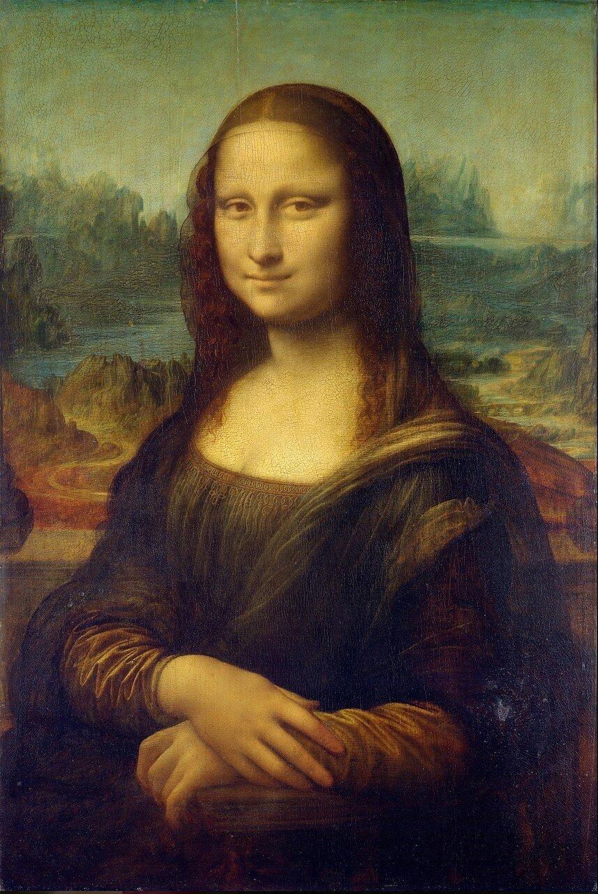 Портрет госпожи Лизы Джокондо. Mona Lisa, by Leonardo da Vinci, .jpg