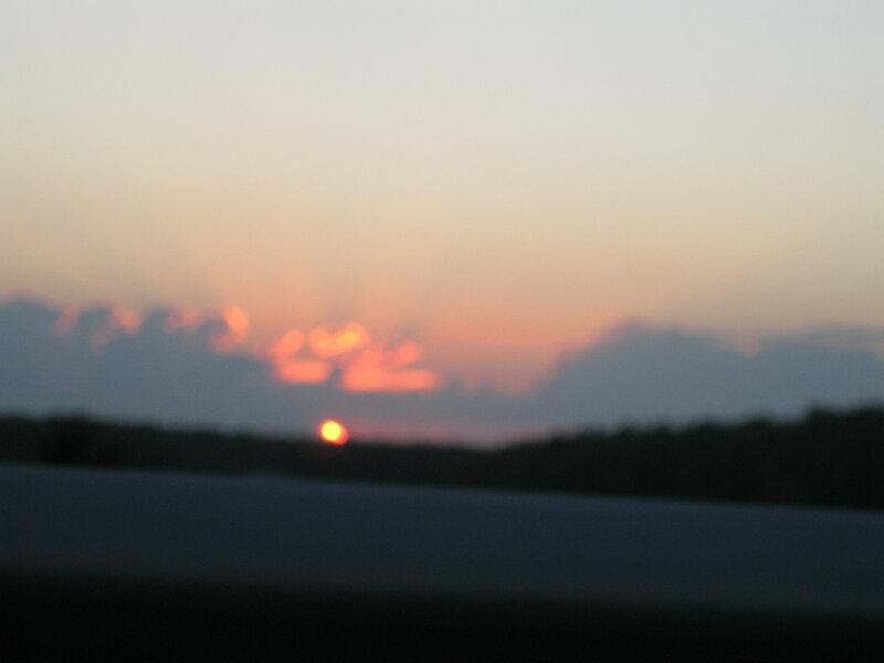 рассветы -закаты