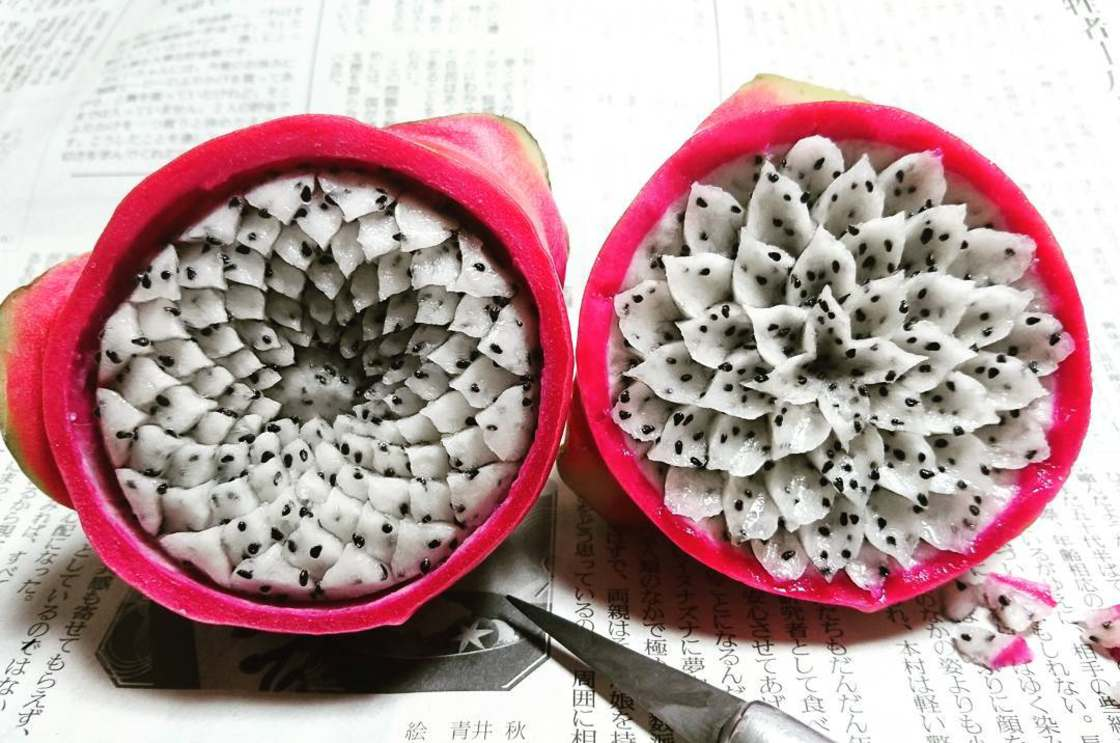 The new carved fruits and vegetables from Gaku are amazing (13 pics)
