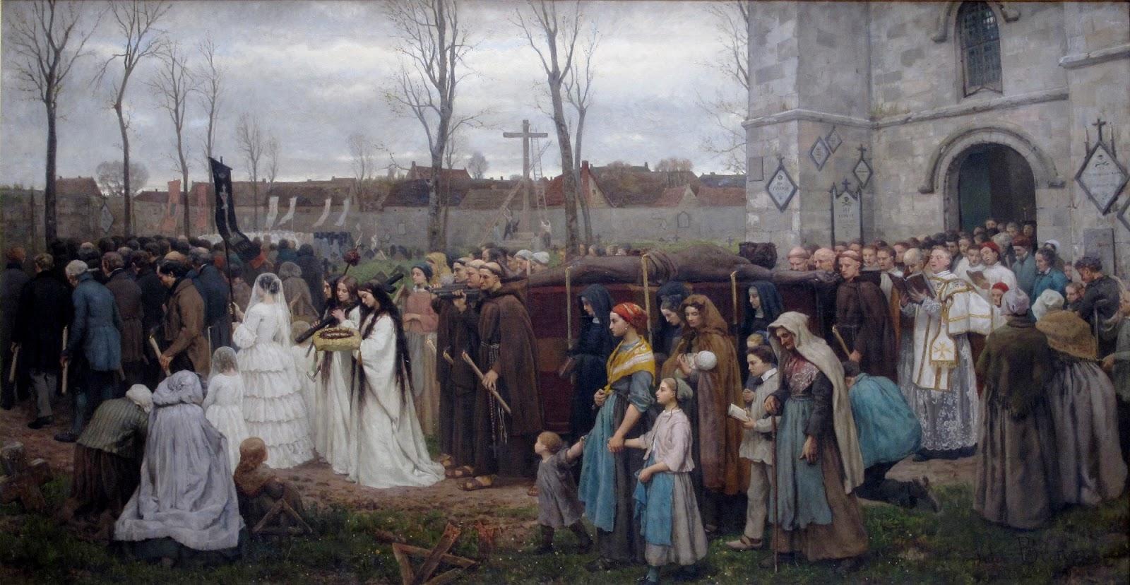 1 Jules-Adolphe Breton     Plantation d'un Calvaire  Planting a Calvary.jpg