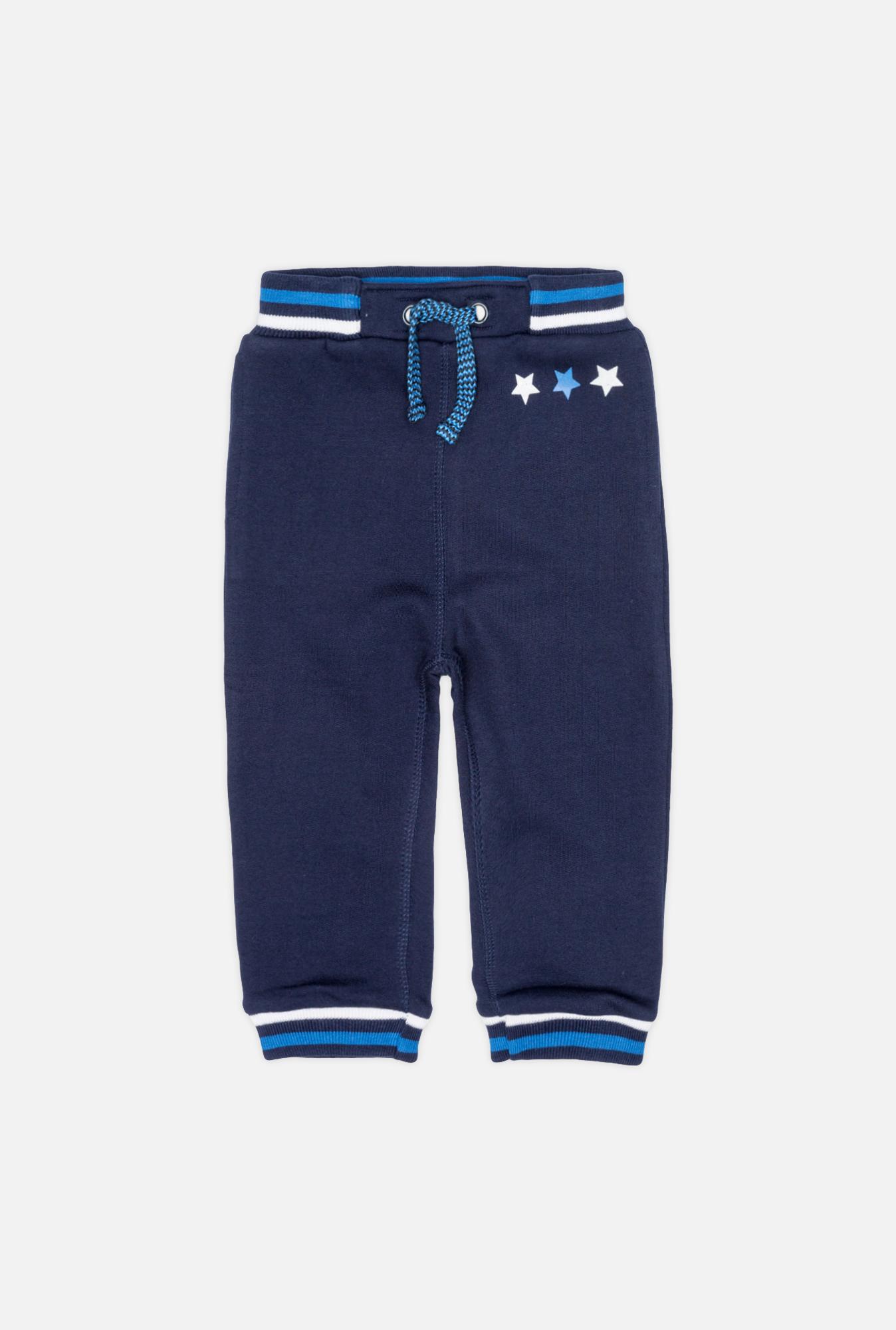 22150160010 Брюки детские для мальчиков Octans темно-синий