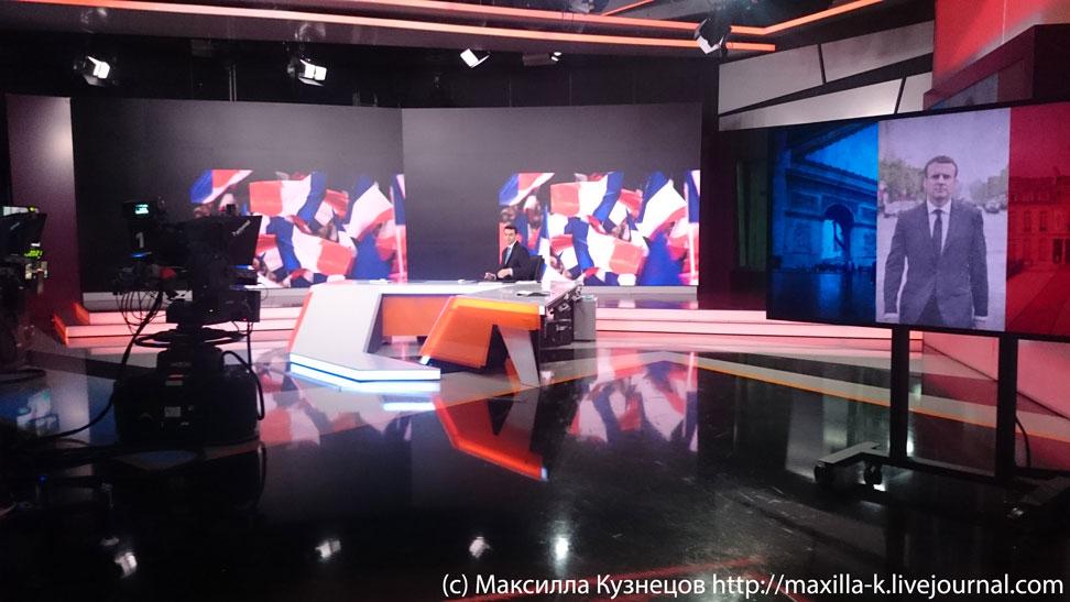 Макрон на RT
