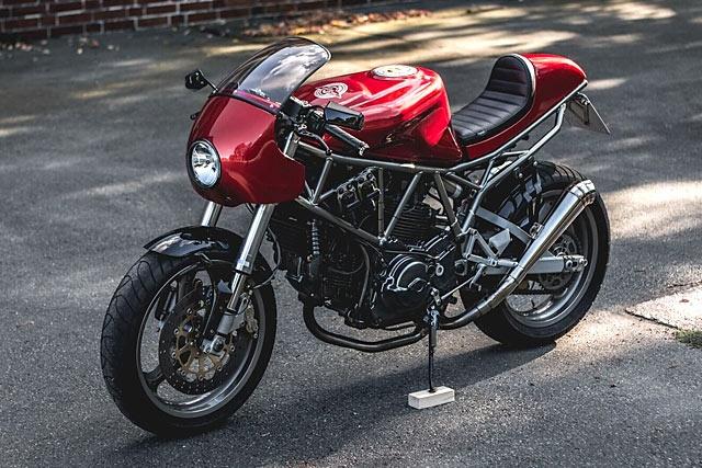 Kaspeed: кафе рейсер Ducati 750SS
