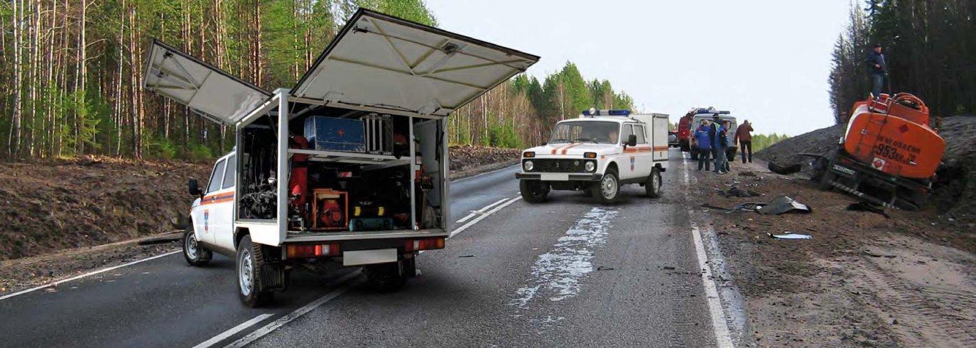 Аварийно-спасательный автомобиль ВИС-2946 ЛАДА 4×4