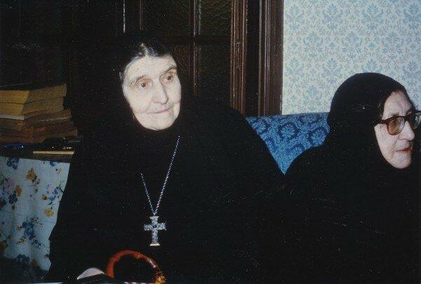 Святитель Иоанн (Максимович) Игуменья Феодора (Львова), монахиня Магдалина (Граббе)