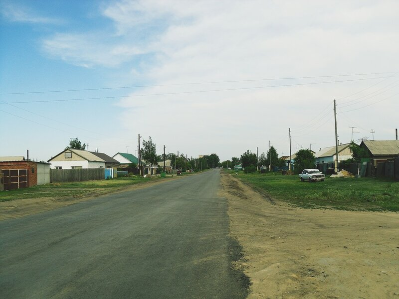 Улица Северная.