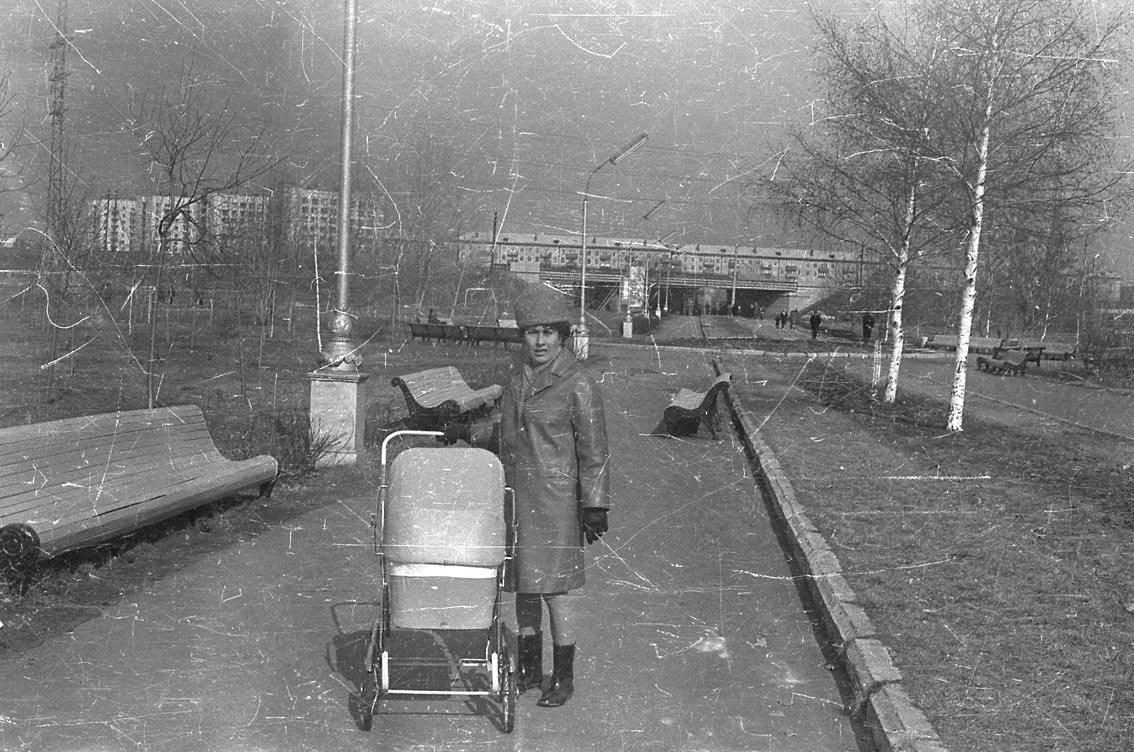 1971. Весна. Парк молодоженов