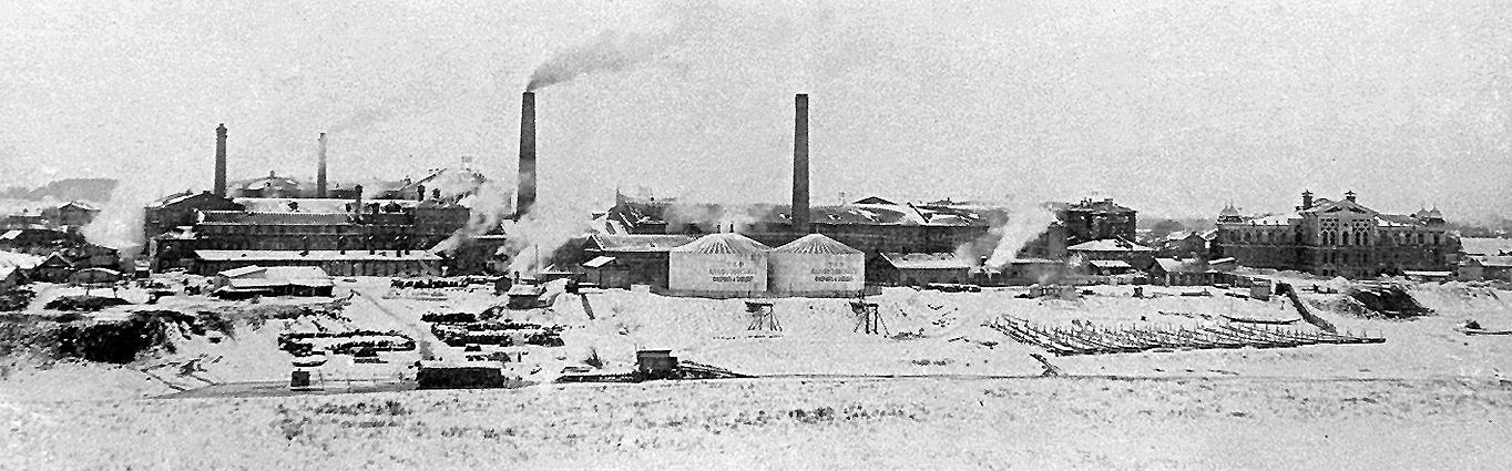 1890-е. Алафузовский завод
