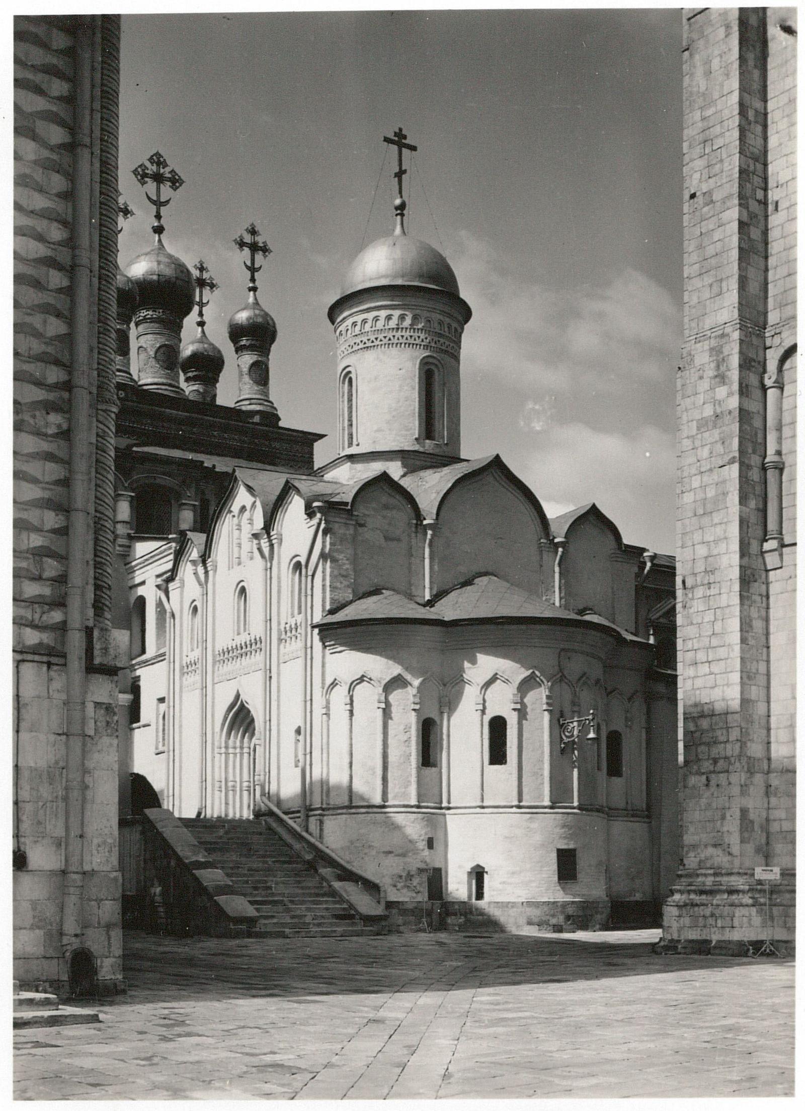 Кремль. Церковь Положения ризы Пресвятой Богородицы