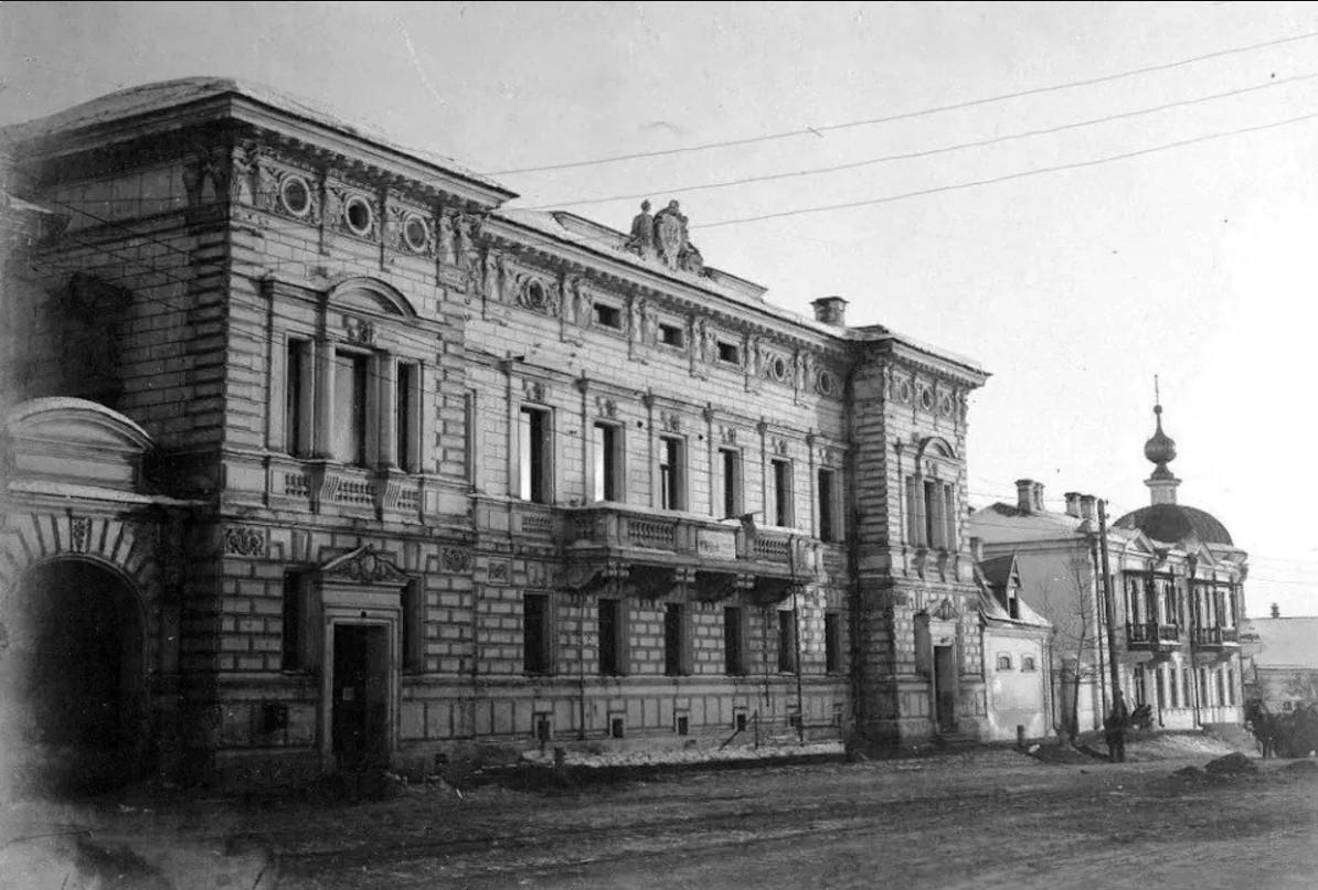 Казанская улица. Лазарет № 6 для раненных на фронтах Первой Мировой