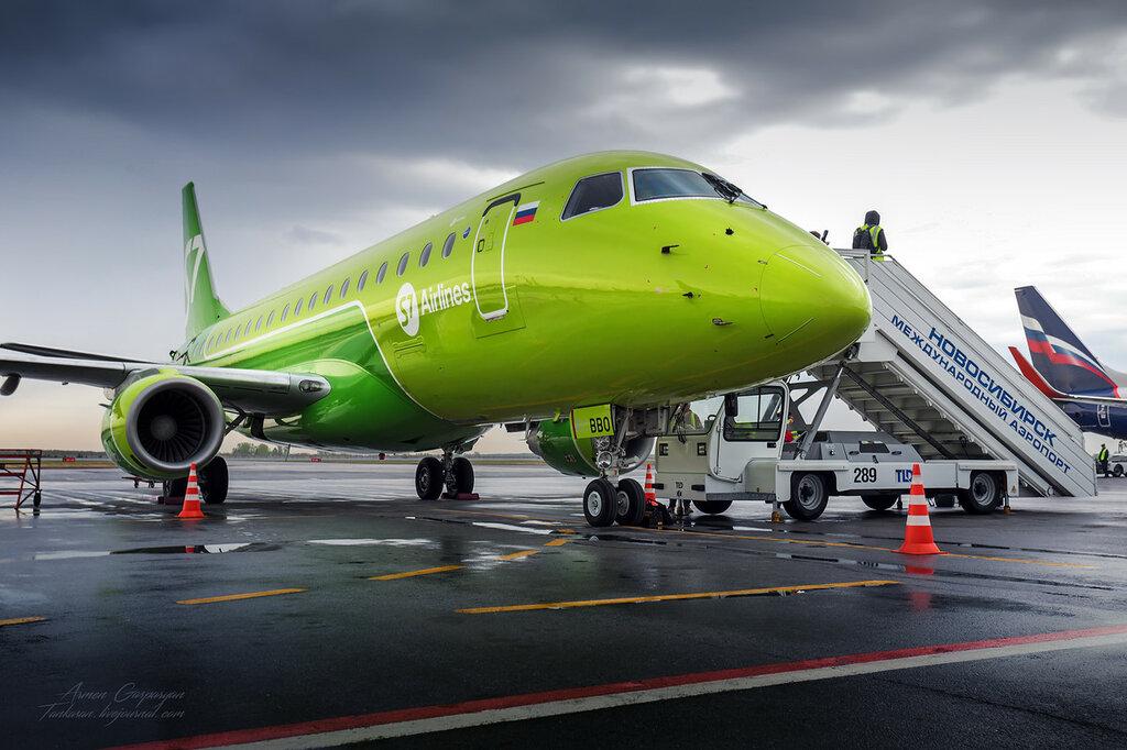 S7 Airlines - лицом к регионам...