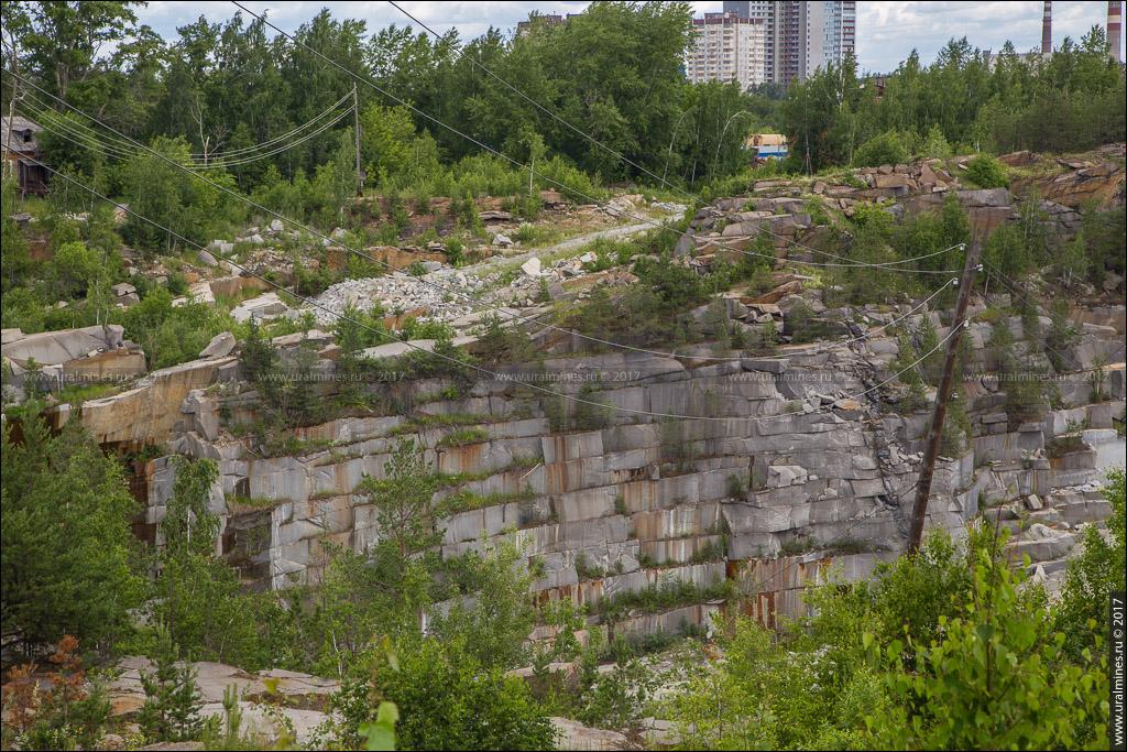 Сибирский гранитный карьер