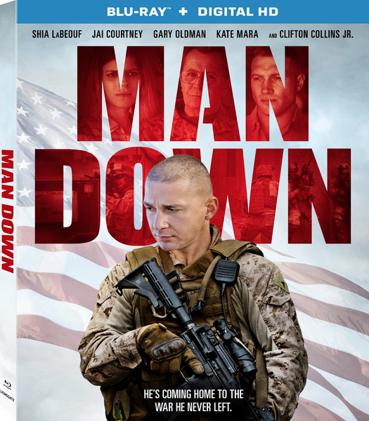 Война / Man Down (2016/BDRip/HDRip)