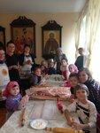 По Уставу 21 марта Православная Церковь отмечает память сорока Севастийских мучеников - воинов, принявших смерть за веру во Христа. По сложившейся традиции, накануне этого праздника наши прихожане с детьми собрались вместе для приготовления жаворонков