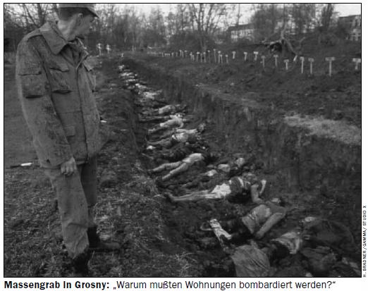 Братская могила в Грозном