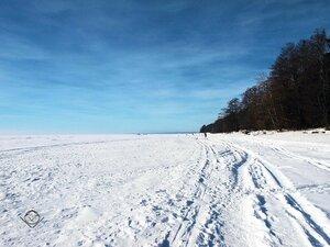 Зимний простор Финского залива