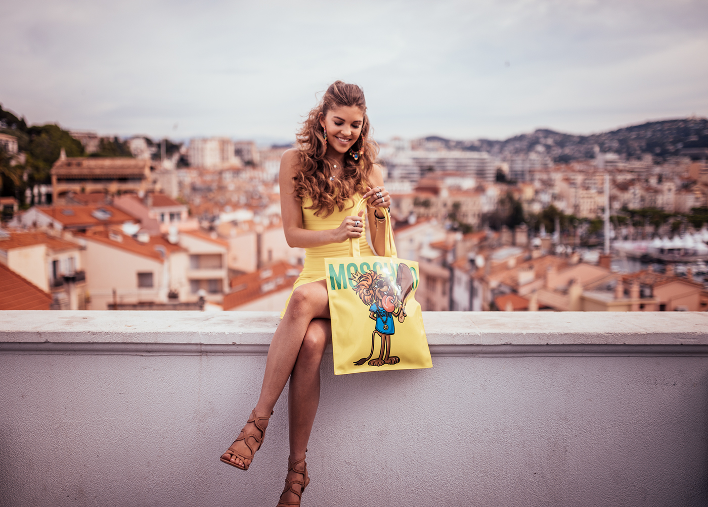 In Cannes for Magnum & Moschino / фото André Josselin