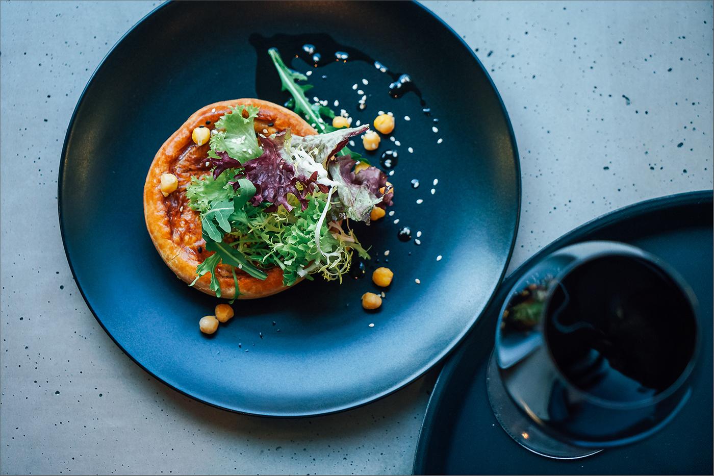 Красивая еда для заведения Альтруист / фото Евгения Драч