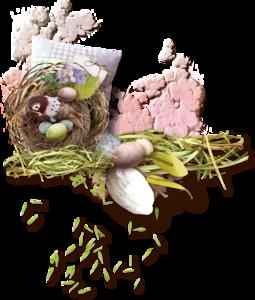 пасха, гнезда