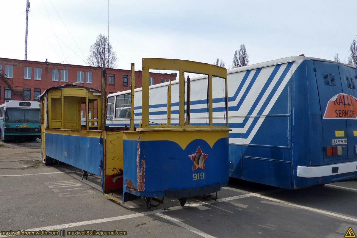 Виставка в філії музею громадського транспорту